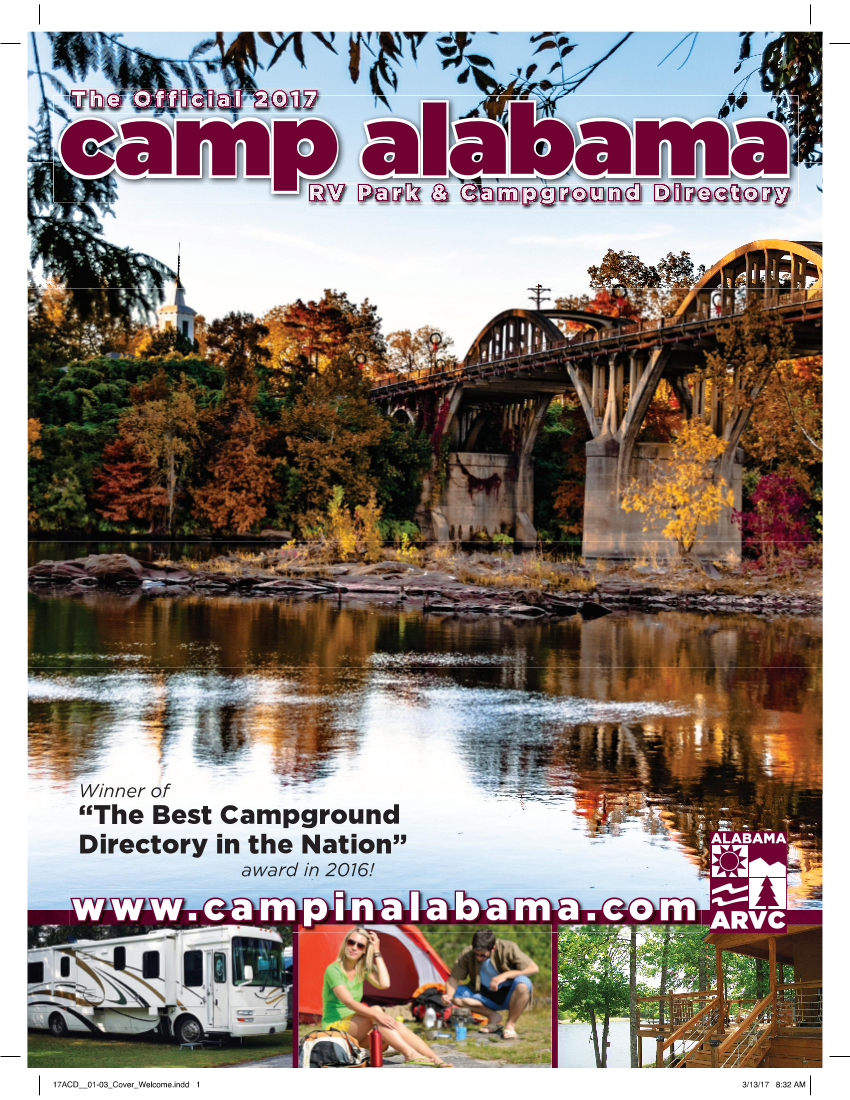 2017 Camp Alabama Directory Cover