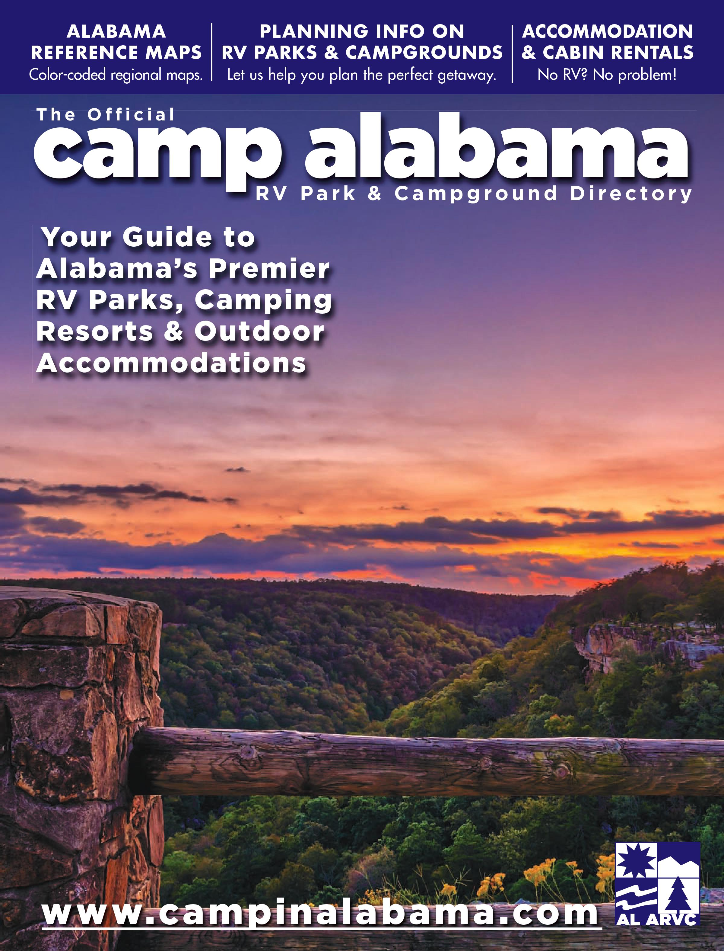 2020 Camp Alabama Directory Cover